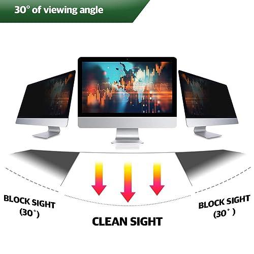 19W Inch Privacy Screen Filter for Desktop Computer Square Monitor Anti-Glare Blocks 96/% UV,Anti-Scratch with 5:4 Aspect Ratio
