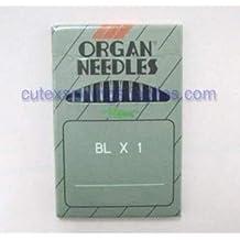 Organ ELX705-SUK Ball Point Portable Serger /& Coverstitch Machine Needles 10Pk