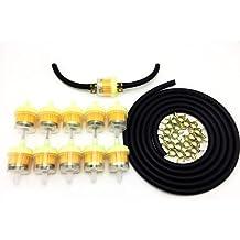Garden 3//16 Inch ID Gas Fuel Line Tubing Hose Clamps For Kawasaki Kohler /& amp