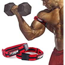 - Occlusion Training Straps Restriction Cuffs for Increased Growth Factors BFR Workout Wraps Pair Iron Bull Strength Blood Flow Restriction Bands