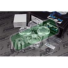 Custom CP Piston Set For BMW M54B30 3.0L M54 Twin Vanos 84mm - 8.0:1CR Bundle