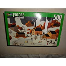 RoseArt Encore Americana 500 Pc Sledding