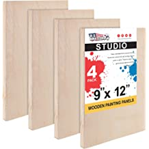 """20 Pack 6x12 Stretched Artist Canvas Primed Panel 3//4/"""" Bulk Discount"""