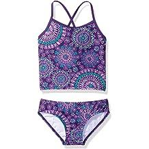 Spotted Zebra Girls Tankini Rashguard Swimsuit Sets Brand