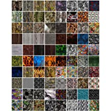 Hydro Dip Film Hydrographic Film Water Transfer Printing Hydro Dipping Variety #4 5 Pack Film 19 X 38 Each